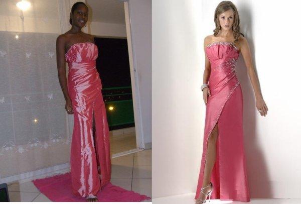 les robes de soiree wach raykoum 3la whda blanda oui b1 3la wahda blanda.......