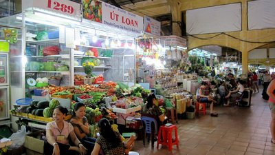 Ben Thanh Market (First day exploring)