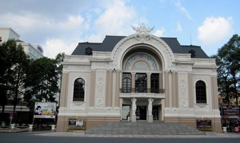 Opera Hall in Ho Chi minh city,