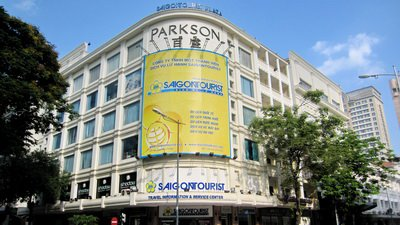 Parkson centre in Ho Chi minh city