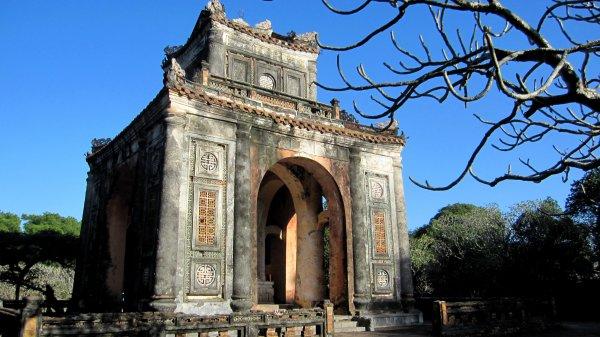 tu duc tomb, Hue province, Vietnam