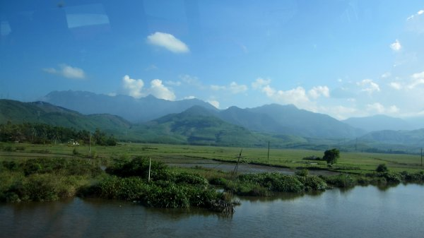 On the way to Dalat province,