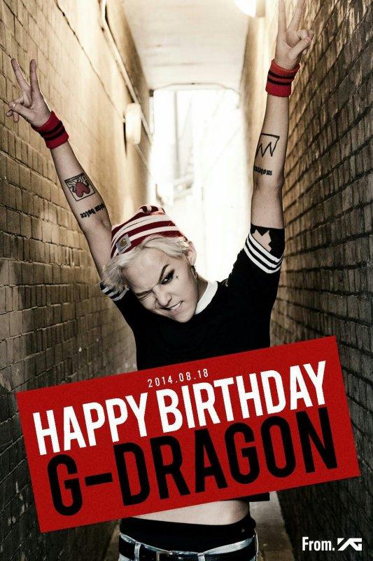 Happy Birthday G-Dragon