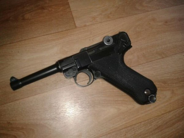p 08 luger d'airsoft