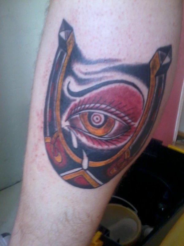 mon nouvo tattoo,ke jme suis fait tt seul mdr