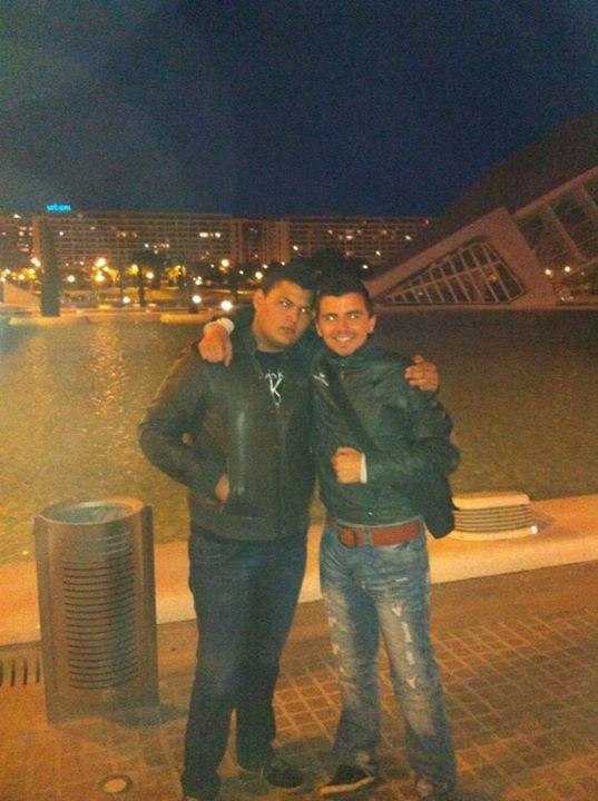 Kevin et moi a Valencia