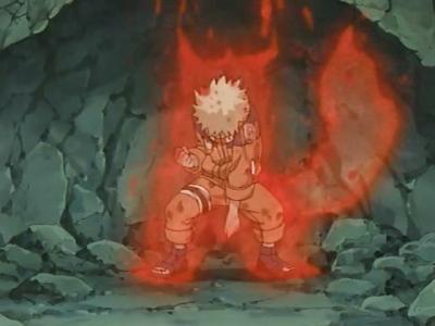 Naruto en combat contre Sasuke