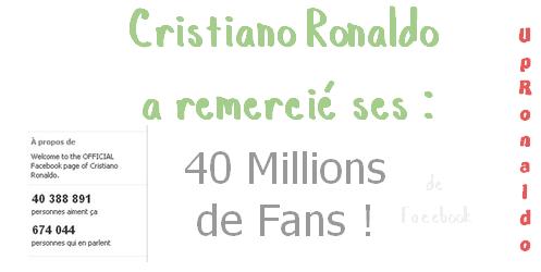 _________________Remontons une dizaine de jours en arrière Mardi 14 Février 2012 Cristiano, _________________________  postait une vidéo sur sa page facebook officiel ↓