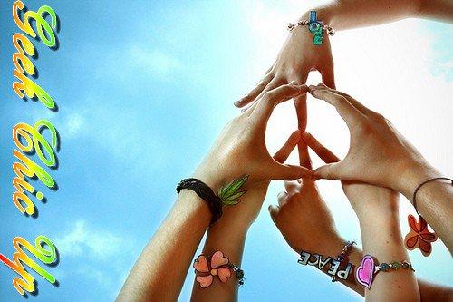 un ptit Peace and love