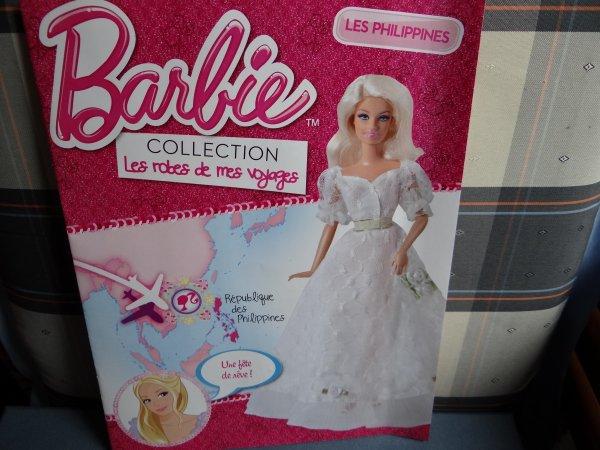 Barbie et ses robes de voyage