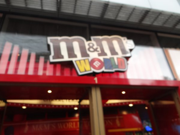 Londres, M&Ms world