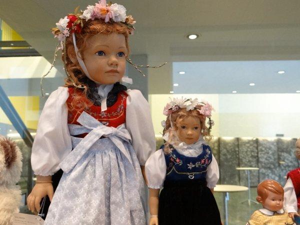 Expo poupees Saarbrucken Allemagne