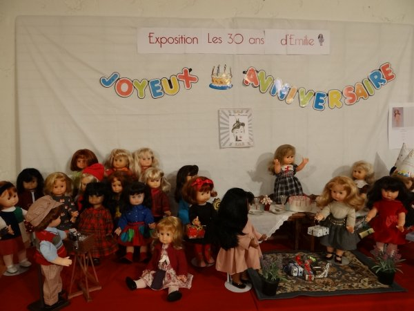 7eme salon de la poupee a Etain