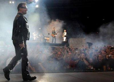 U2//360° TOUR//2010 ROME STADIO OLIMPICO DI ROMA 8 OCTOBRE 2010