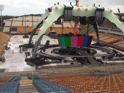 U2//360 TOUR//2010 AUCKLAND MT SMART STADIUM 25 NOVEMBRE 2010