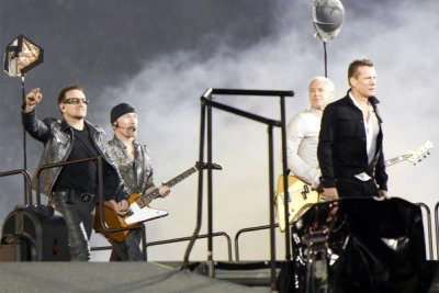 U2//360 TOUR//2010 AUCKLAND MT SMART STADIUM 26 NOVEMBRE 2010