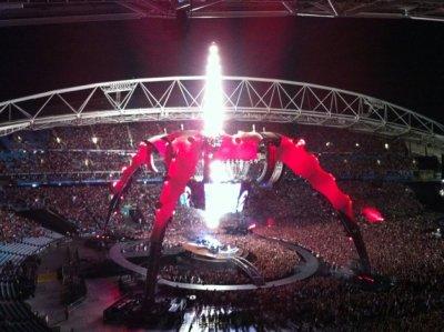 U2//360 TOUR//2010 SYDNEY ANZ STADIUM 13 DECEMBRE 2010