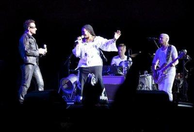 U2//360 TOUR//2011 LE CAP CAP TOWN STADIUM 18 FEVRIER 2011