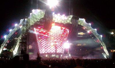 U2//360 TOUR//2011 ANAHEIM ANGEL STADIUM 18 JUIN 2011