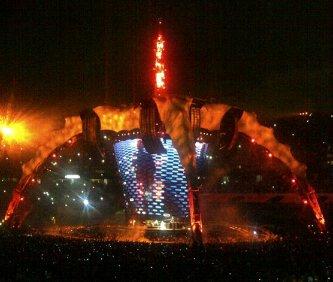 U2//360 TOUR//2011 MIAMI SUN LIFE STADIUM 29 JUIN 2011