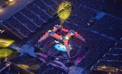 U2//360 TOUR//2011 MONTREAL HIPPODROME 9 JUILLET 2011
