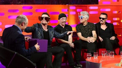 U2//GRAHAM NORTON SHOW//17 OCTOBRE 2014