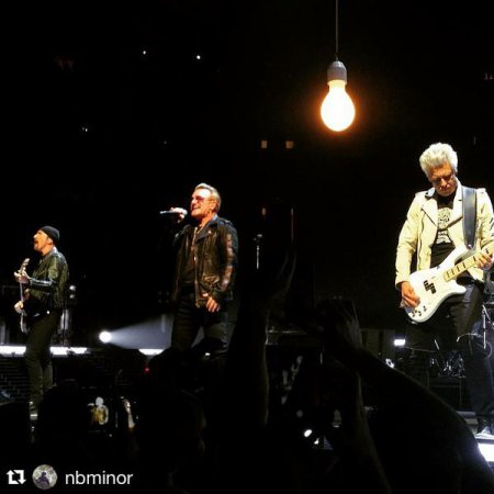 U2//INNOCENCE+EXPERIENCE TOUR//2015 DENVER PEPSI CENTER 6 JUIN 2015