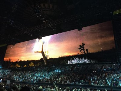 U2//INNOCENCE+EXPERIENCE TOUR//2015 DENVER PEPSI CENTER 7 JUIN 2015