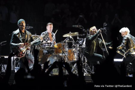 U2//INNOCENCE+EXPERIENCE TOUR//2015 NEW YORK MADISON SQUARE GARDEN 18 JUILLET 2015