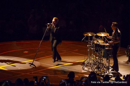 U2//INNOCENCE+EXPERIENCE TOUR//2015 NEW YORK MADISON SQUARE GARDEN 23 JUILLET 2015