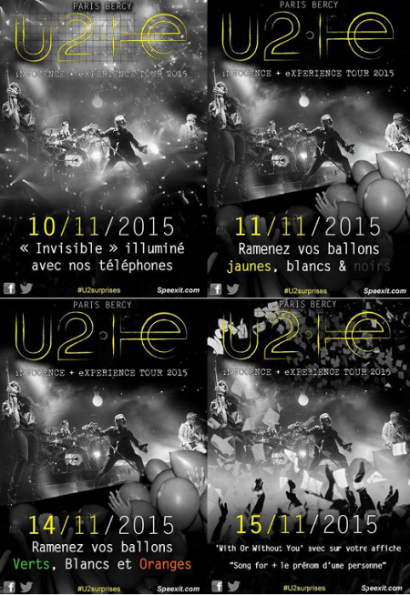 U2//SURPRISE//PARIS BERCY