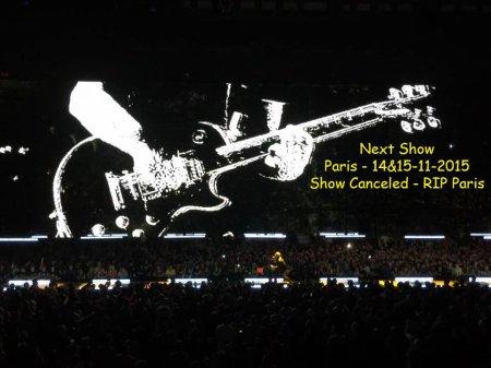 U2//INNOCENCE+EXPERIENCE TOUR//2015 PARIS ACCORHOTELS ARENA 14/15 NOVEMBRE 2015