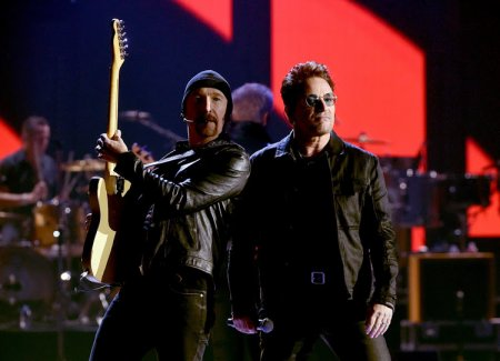 U2//IHEARTRADIO MUSIC FESTIVAL//2016  23 SEPTEMBRE 2016