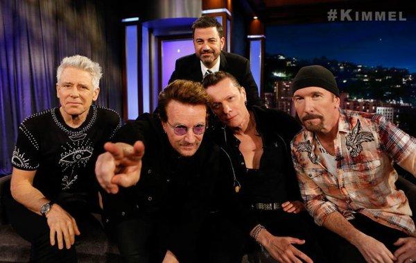 U2//JIMMY KIMMEL LIVE//2017