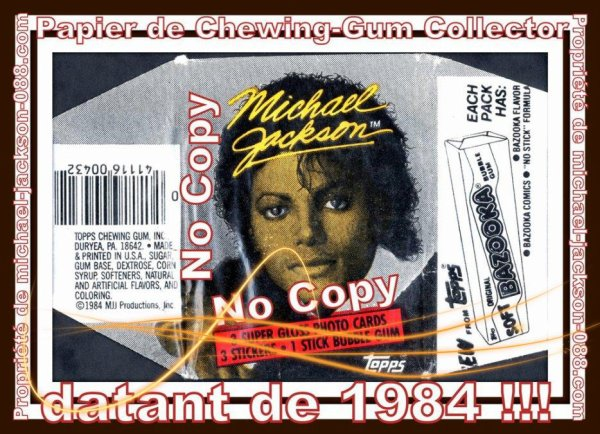 Authentique Ticket de Concert du Live de Denver le 8 Septembre 1984 + Papier de Chewing-Gum Collector :