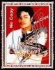 """Authentique Autographe dédicacé par Michael jackson """" To M.J Data Bank le 19 Avril 1997 lors de sa venue au Musée Grévin !!!"""