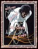 Authentique Autographe dedicace par Michael Jackson durant le Bad-World-Tour en 1988 !!!