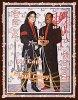 Authentiques Autographes de Michael Jackson et Eddie Murphy !!!
