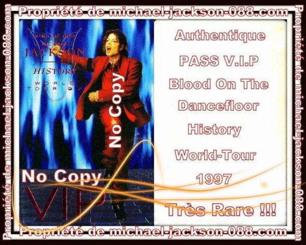 Authentique PASS VIP Blood & The DanceFloor !!!