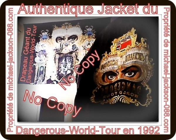 Magnifique et Authentique Jacket du Dangerous-World-Tour en 1992 !!! :
