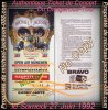 "Authentique Ticket de Concert Intact du Live de "" Munich "" Dangerous-Tour le 27 Juin 1992 !!!"