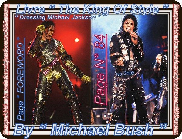 "Article Hommage Michael Jackson :) Extraits du Livre "" The King Of Style "" ^^"