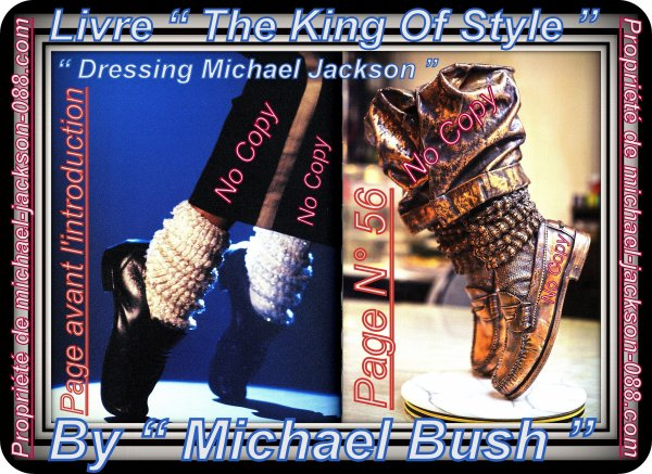 "Article Hommage Michael Jackson :) Extraits du Livre "" The King Of Style "" ^^"