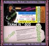 Tickets Intacts Lives de Lausanne & Bâle en Suisse 1988 + Photo Bonus !!! :