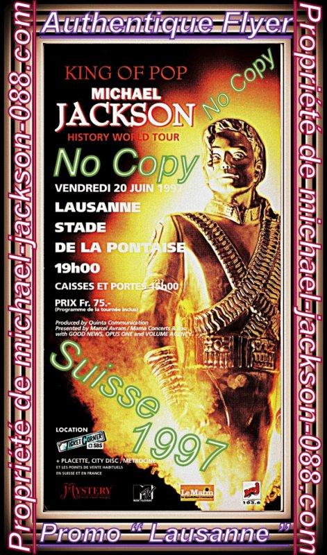 Tickets Intacts Lives de Lausanne & Bâle en Suisse 1988 + Photo Bonus !!! :