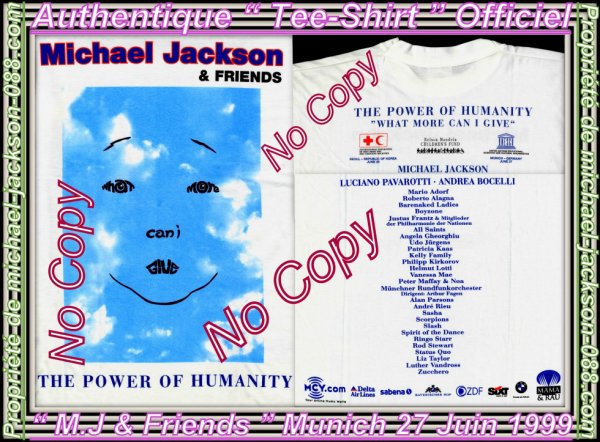 "Article Spécial "" Michael Jackson & Friends "" Munich 27 Juin 1999 !!! :"