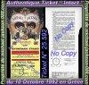 """Magnifique & Authentique Ticket de Concert """" Intact """" du 10 Octobre 1992 en Grèce !!! :"""