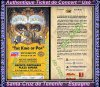 "Authentique Ticket "" usé "" du Live de Santa-Cruz de Tenerife en Espagne le 26 Septembre 1993 :"