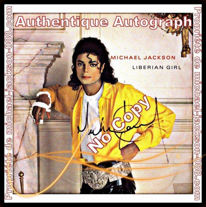 Collection d'Authentiques Memorabilia de Michael Jackson :