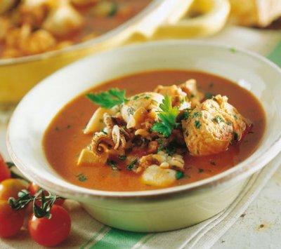 cacciucco alla livornese – Soupe de poissons